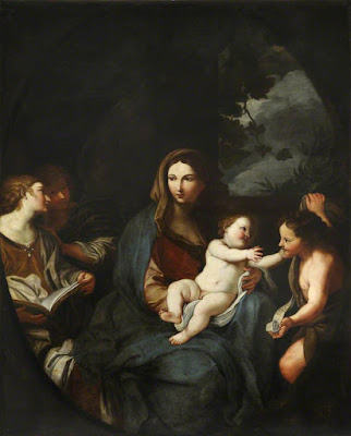 Virgin and Child with Saint John the Baptist, Elisabetta Sirani