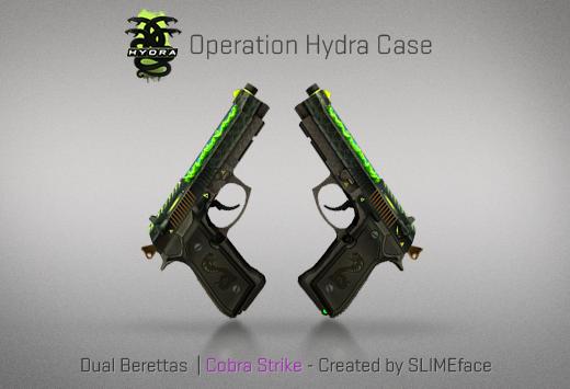 Operation Hydra Case - Dual Berettas | Cobra Strike