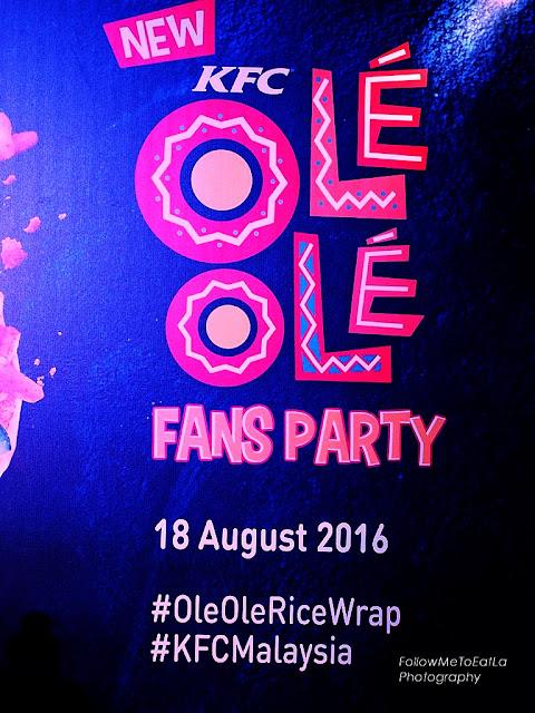 KFC Malaysia Ole' Ole' Fans Party