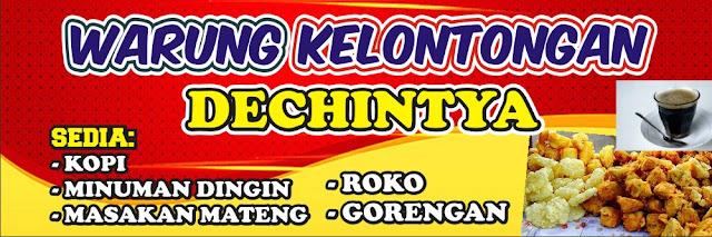 Desain Banner Warung Sembako - desain spanduk keren