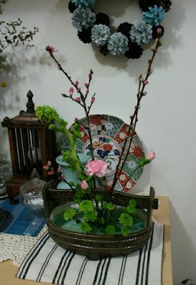 ひな祭り生け花