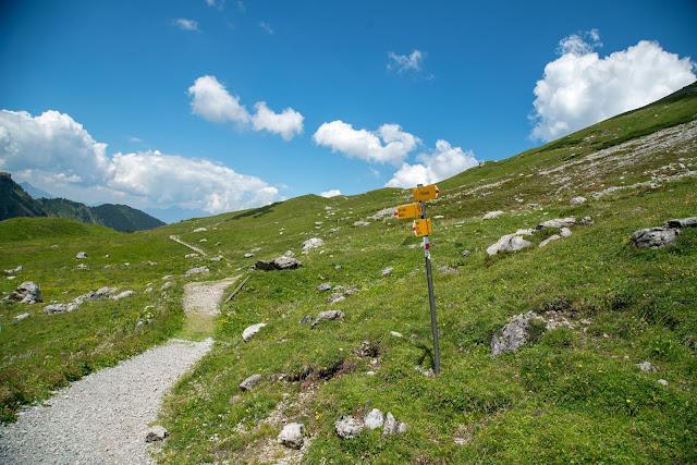 Fürstin-Gina-Weg  Augstenberg und Pfälzerhütte  Wandern in Liechtenstein 14