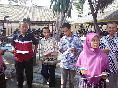 Pemetaan Partisipatif Lingkungan SMKN 2 Pengasih www.guntara.com