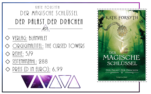 [Rezension] Der magische Schlüssel 05: Der Palast der Drachen - Kate Forsyth