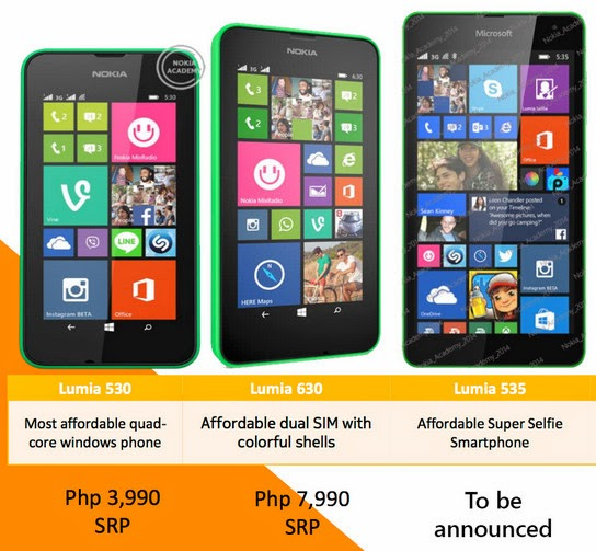 Microsoft Lumia Philippines Smartphones 2014 Price List And Holiday