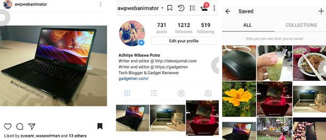 Cara Simpan Foto di Instagram dengan Mudah