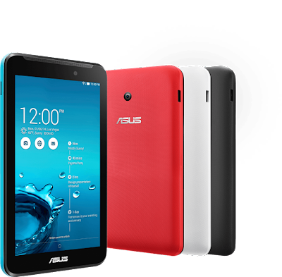 Asus Memo Pad 7 ME176C Specifications - LAUNCH Announced 2014, June  This is not a GSM device, it will not work on any GSM network worldwide. DISPLAY Type IPS LCD capacitive touchscreen, 16M colors Size 7.0 inches (~66.0% screen-to-body ratio) Resolution 800 x 1280 pixels (~216 ppi pixel density) Multitouch Yes, up to 10 fingers BODY Dimensions 189.3 x 113.7 x 9.6 mm (7.45 x 4.48 x 0.38 in) Weight 295 g (10.41 oz) SIM No PLATFORM OS Android OS, v4.4.2 (KitKat) CPU Quad-core 1.86 GHz Chipset Intel Atom Z3745 GPU Intel Gen 7 (Ivy Bridge) MEMORY Card slot microSD, up to 64 GB (dedicated slot) Internal 8/16 GB, 1 GB RAM CAMERA Primary 5 MP, autofocus Secondary 2 MP Features Geo-tagging Video 1080p NETWORK Technology No cellular connectivity 2G bands N/A GPRS No EDGE No COMMS WLAN Wi-Fi 802.11 b/g/n GPS Yes, with GLONASS USB microUSB v2.0 Radio No Bluetooth v4.0 FEATURES Sensors Accelerometer, compass Messaging Email, Push Mail, IM Browser HTML5 Java No SOUND Alert types Vibration; MP3, WAV ringtones Loudspeaker Yes, with stereo speakers 3.5mm jack Yes  - Active noise cancellation with dedicated mic BATTERY  Non-removable Li-Po battery (15 Wh) Stand-by  Talk time Up to 9 h (multimedia) Music play  MISC Colors Black, White, Red, Blue, Yellow  - MP3/WAV/WMA/AAC player - MP4/H.264 player - Document viewer - Photo viewer/editor - Voice memo
