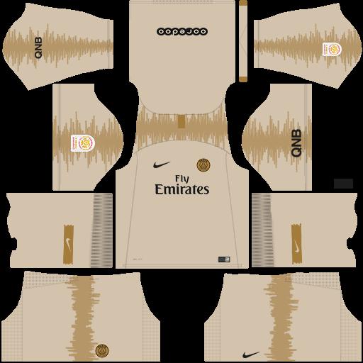 uniforme portero psg 2018