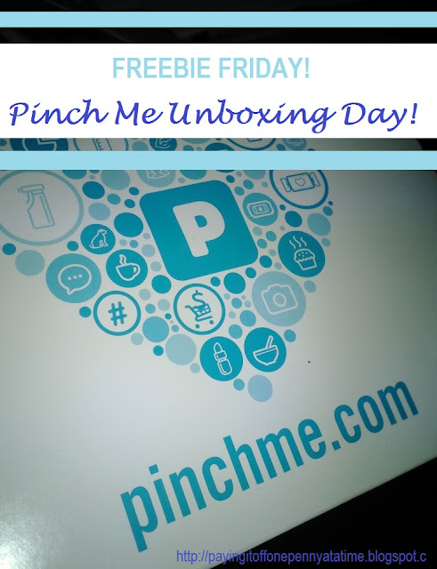 Freebie Friday: Pinch Me Unboxing Day! 2/19/2016