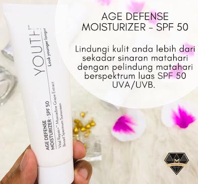 youth age defense moisturizer spf50