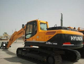 Hyundai R220LC-9SH Crawler Excavator