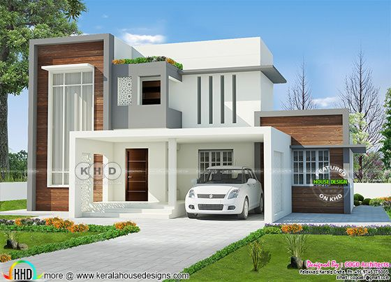 New stylish contemporary home 2400 square feet