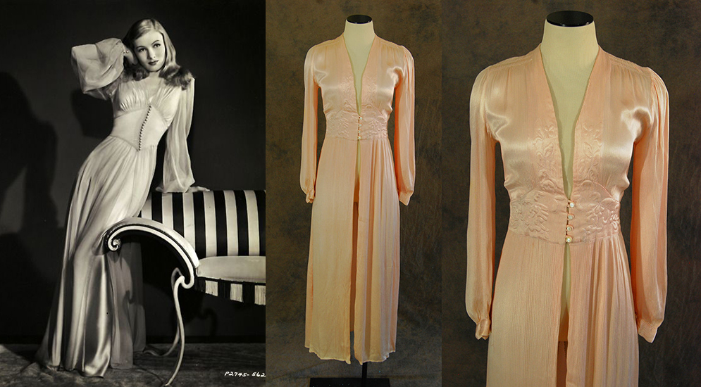 Jessamity: Then & Now: 1940s Dressing Gown