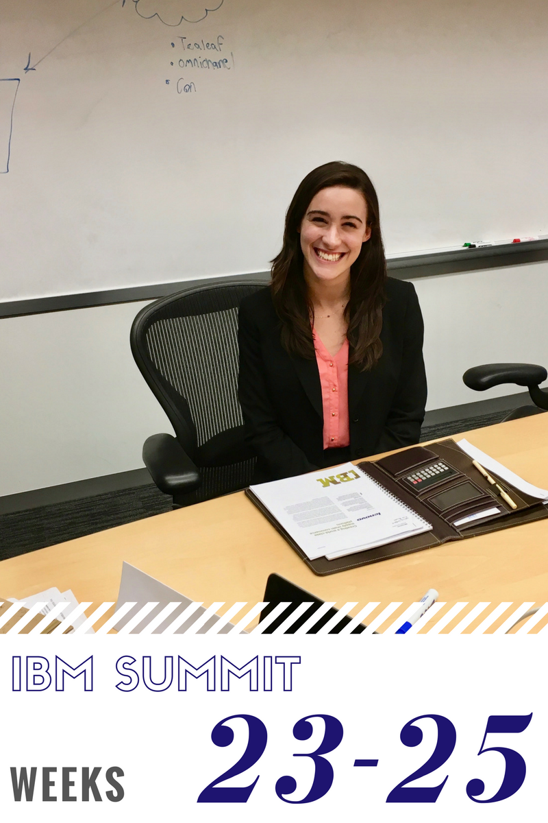 Click to read now or pin to save for later! This final installment of my IBM Summit Program blog series is all about graduating, attending industry events, and figuring out what career topics to tackle next
