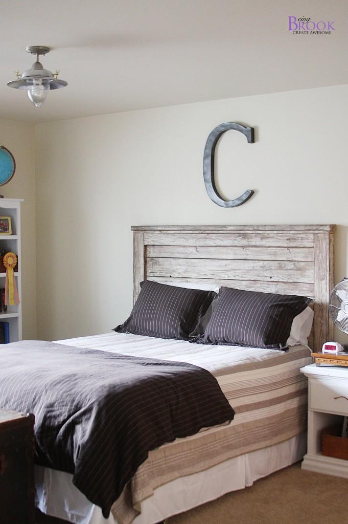 Boy Bedroom Update Light Fixture