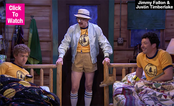 Justin Timberlake & Jimmy Fallon Belt Out Alanis Morissette In Camp Sketch — Watch