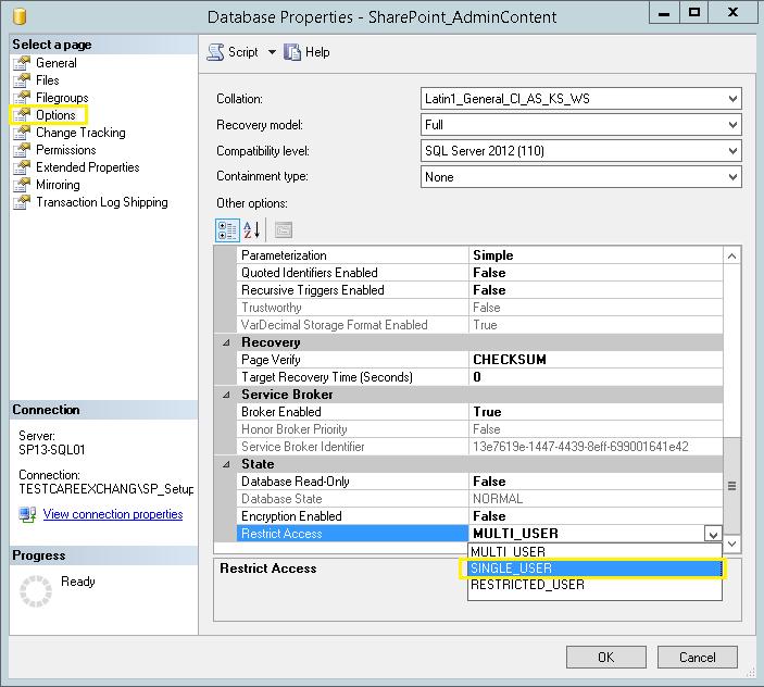 sharepoint 2013 database names guid