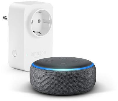 Echo Dot + Amazon Smart Plug