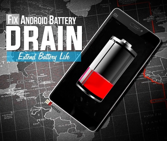 Android battery draining fast fix