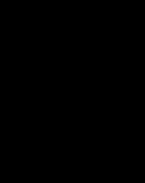 Black Outline stencil clip art