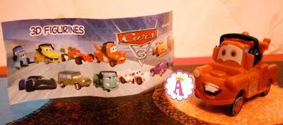 Машинка из мультфильма Cars 3
