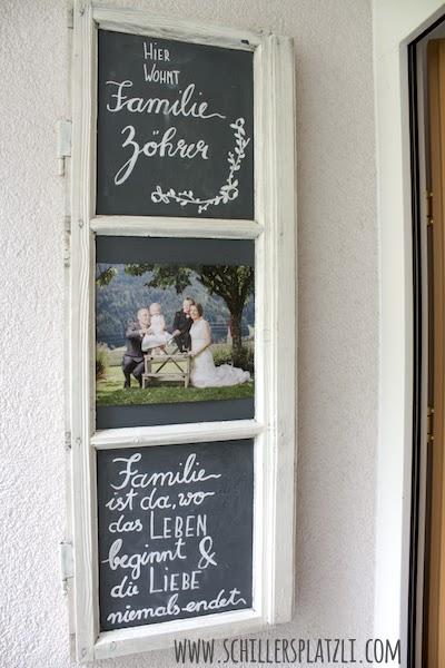 Schiller S Platzli Turschild Neu Mit Einem Alten Fenster