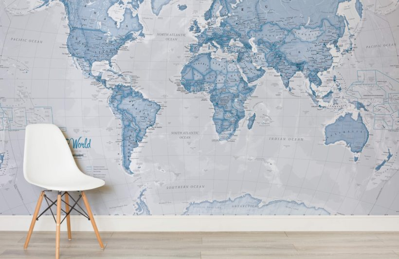 10 amazing mural wallpapers you need to see emily may for Amazing wall mural