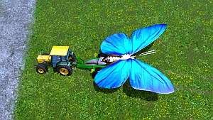 Giant Butterfly Dolly