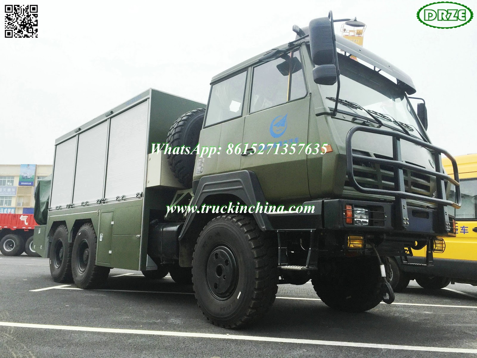 Garage For Service Trucks : Steyr sx military truck service for export