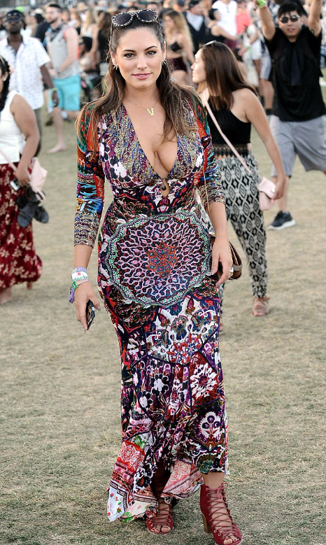 Kelly Brook Goes Tribal
