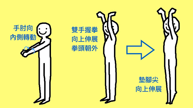 好痛痛 伸展 放鬆 手臂 痠痛 酸痛 脊椎 背部 腹部