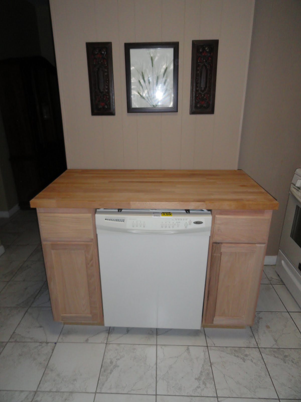 How To Build A Portable Kitchen Island