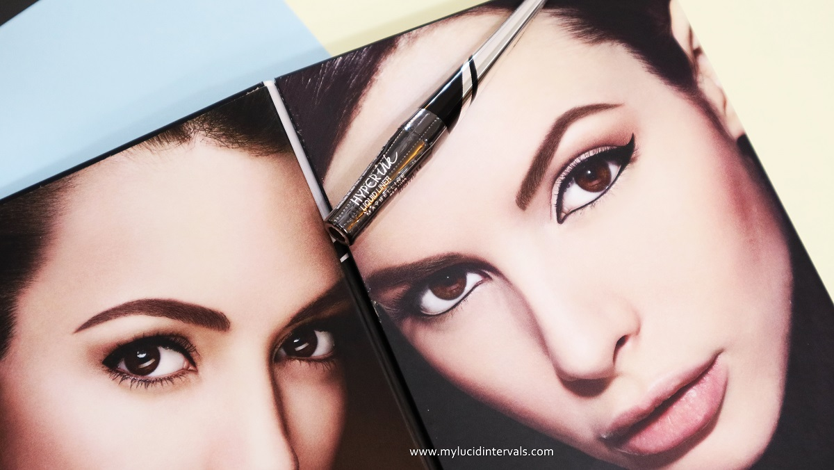 Fierce It Up With Maybelline Hyperink Liner My Lucid Intervals Hyper Ink Eye Black More Than A Decade After Discovering Penchant For Makeup I Am Still Having Difficulty Lining Lash Line Using Liquid Liners Particularly Regard