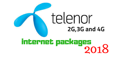 Telenor 4G internet Packages 2018 - Telenor Daily, Weekly and Monthly Data Packages