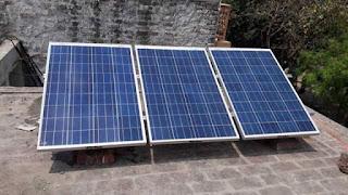 Solar on one battery inverter