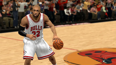 NBA 2K13 Taj Gibson Chicago Cyber Face Patch