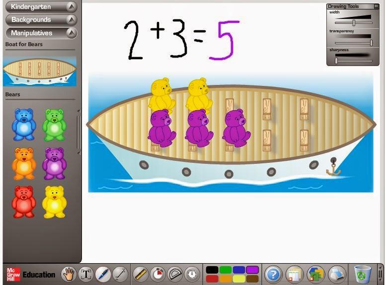 Glencoe Virtual Math Manipulatives Site: *AMAZING*   The