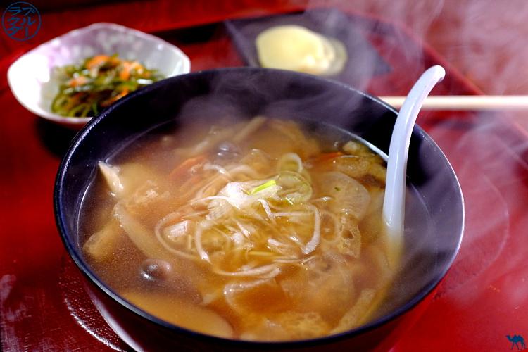 Le Chameau Bleu - Soupe de Gnocchi Japonais chez  Rest House Minka - Hiraizumi