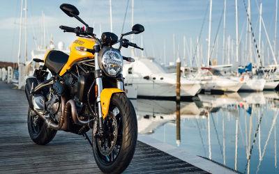 Ducati Monster 821 2018 Face - Fond d'Écran en Quad HD 1440p