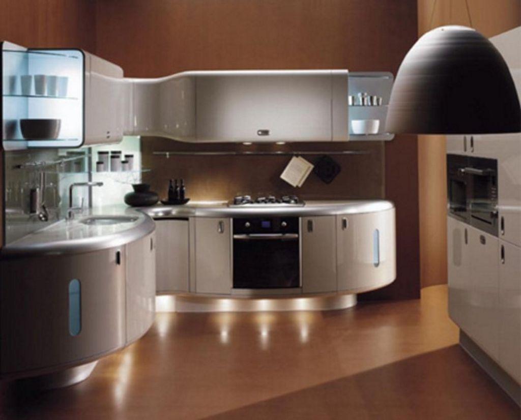 Rancangan Desain Kitchen Set Mewah Minimalis