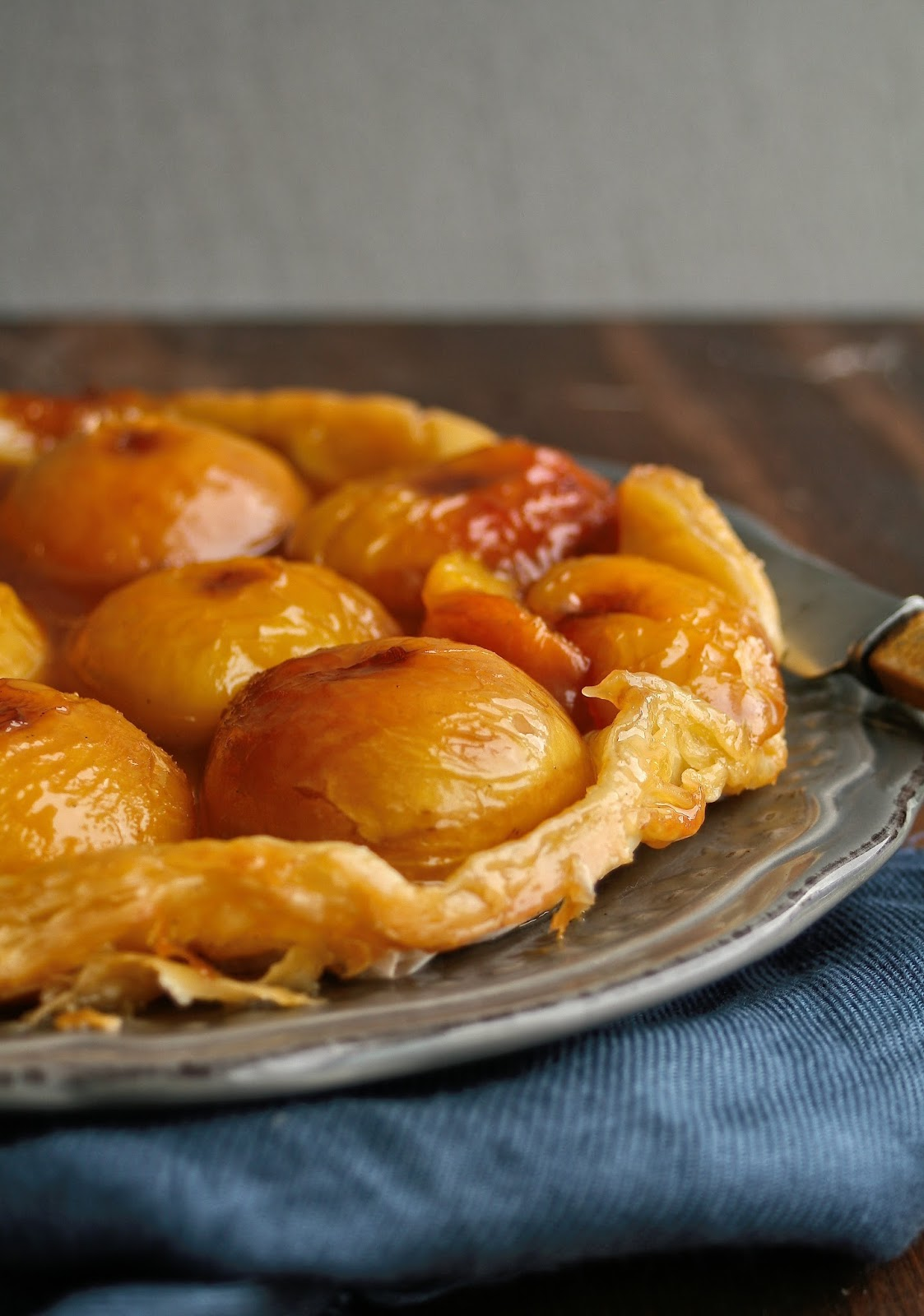 Fruit tarte tatin.