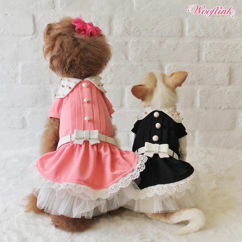 WOOFLINK - Hip designer dog clothes:  SCHOOL GIRL 2