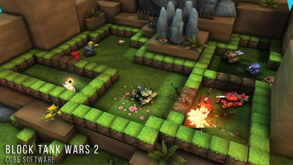 Download Block Tank Wars 2 Apk v1.5 (Mod Money/Ad-Free) Terbaru 2016