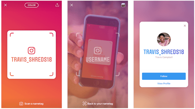 Instagram Introduces NameTag- New Feature To Connect With Friends