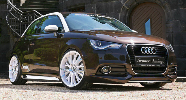 zoom in cars senner tuning cooks up audi a1 1 4 tfsi with. Black Bedroom Furniture Sets. Home Design Ideas