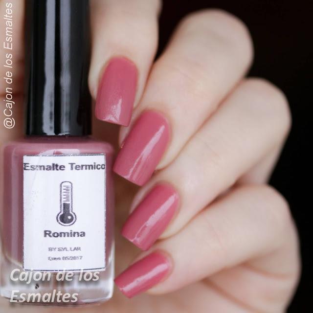 Esmalte térmico Romina - Color caliente