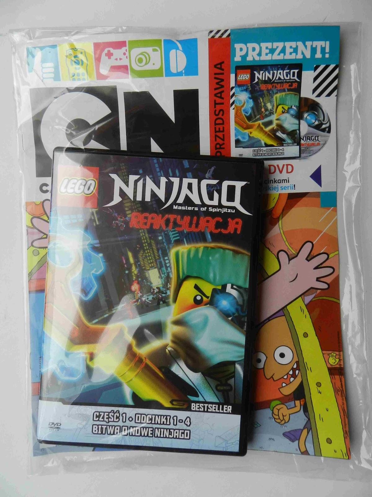 Lego Ninjago Reaktywacja Cz 1 Dvd Dodatki W Kiosku 2 Sklepy