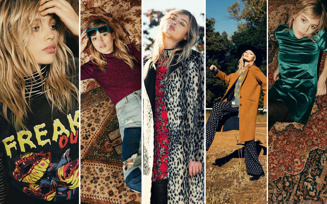 Moda otoño invierno 2016. Complot otoño invierno 2016 moda juvenil vestidos, pantalones y abrigos.