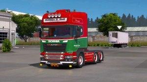 Scania R520 Matthijs B.Bolt truck mod