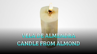 Vela comestible, OIL WICK, Edible candle
